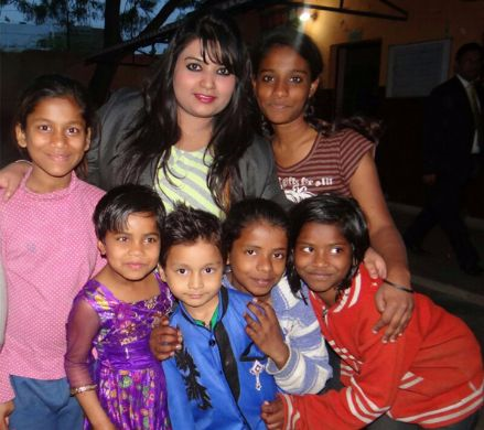 CSR Activity with a girl NGO(Khushi Home)